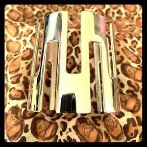 Rustic Cuff Art Deco silver cuff